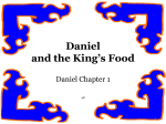 Daniel and the Kings Food_Cover