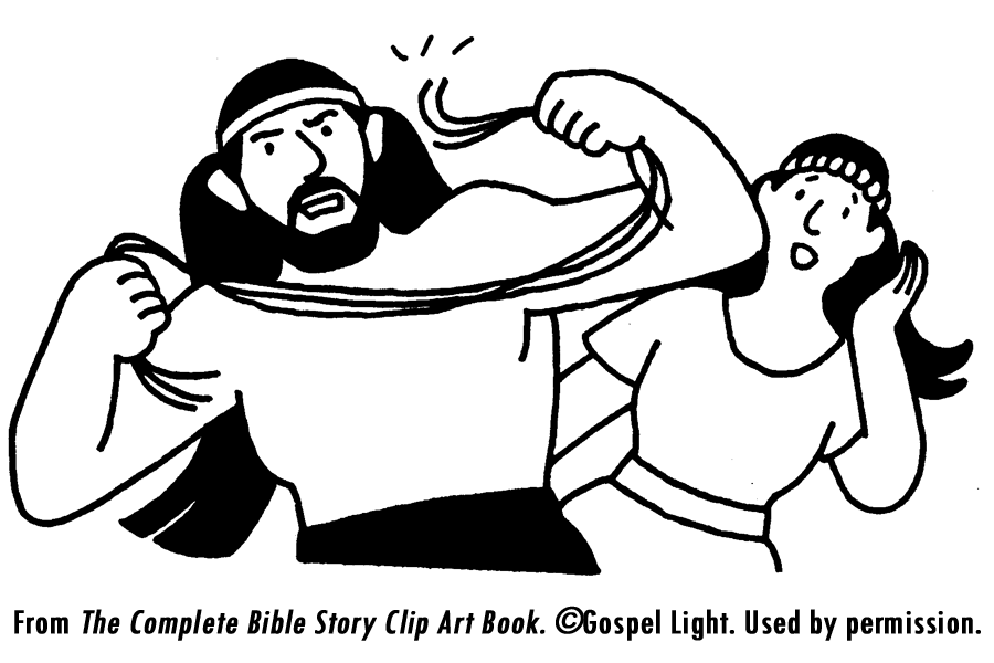 samson strengh coloring pages