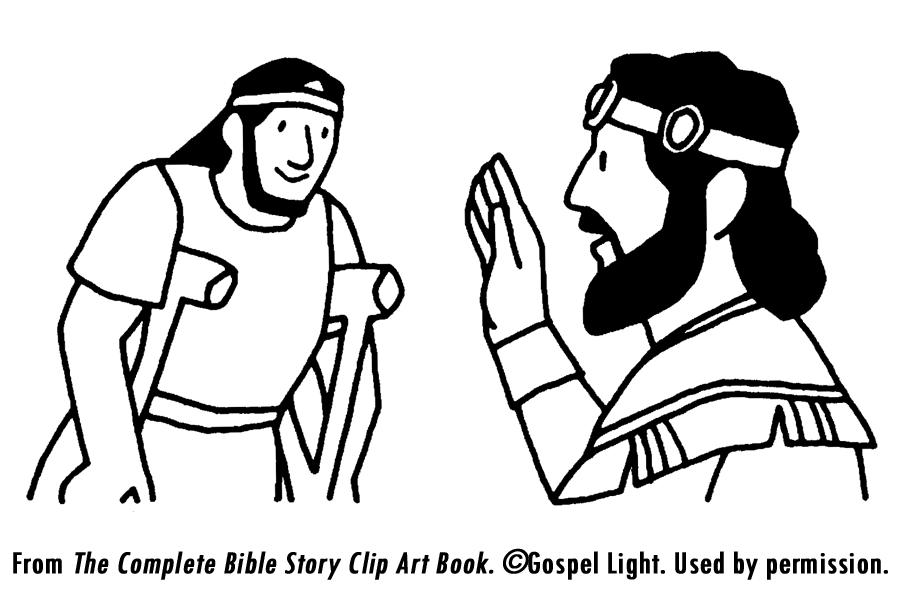 David Helps Mephibosheth   Mission Bible Class