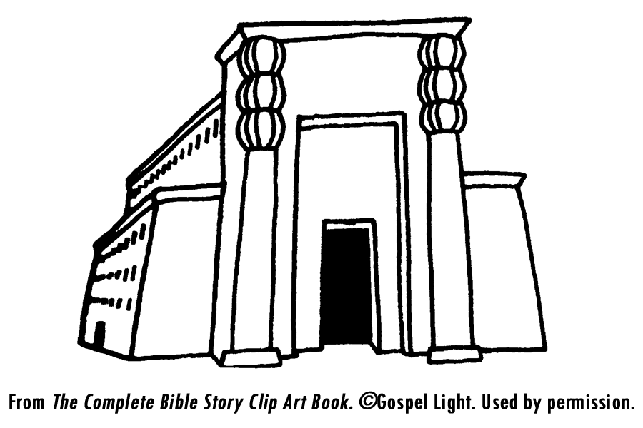 Solomon builds the temple mission bible class for Building the temple coloring pages