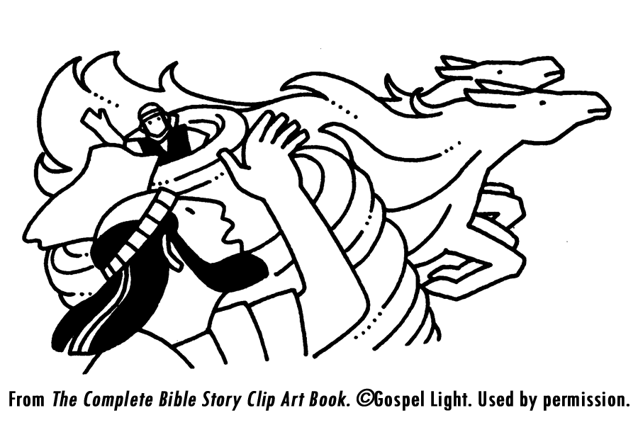 Chariot of Fire Coloring Page http://missionbibleclass.org/old-testament-stories/old-testament-part-2/divided-kingdom/elijah-and-the-whirlwind/