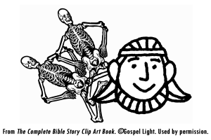 dry bones coloring pages - ezekiel and the valley of dry bones mission bible class