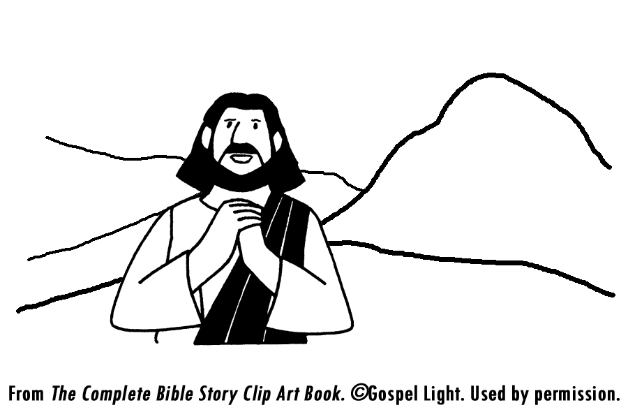 Jesus' Temptation Coloring Page http://missionbibleclass.org/1b0-new-testament/new-testament-part-1/life-of-christ-early/jesus-tempted-in-the-wilderness/