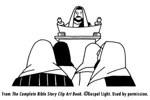 Jesus Preaches In Nazareth Mission Bible Class