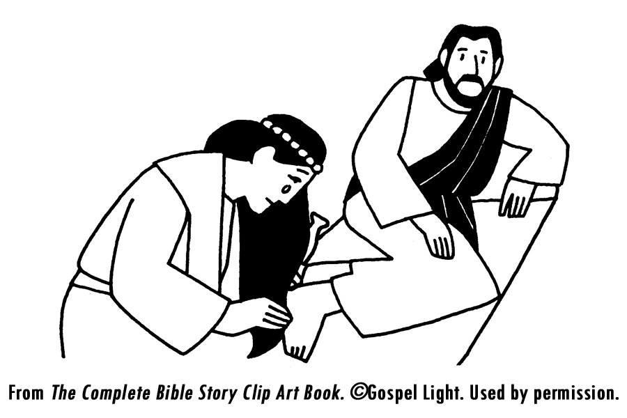 coloring pages luke 7 - photo#36