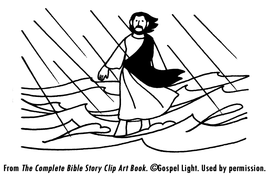 Jesus Walks On Water - Lessons - Tes Teach