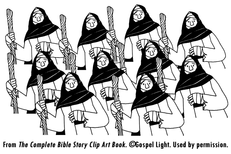 ten lepers coloring page - gospel of luke 17 11 19 articles commentaries homilies