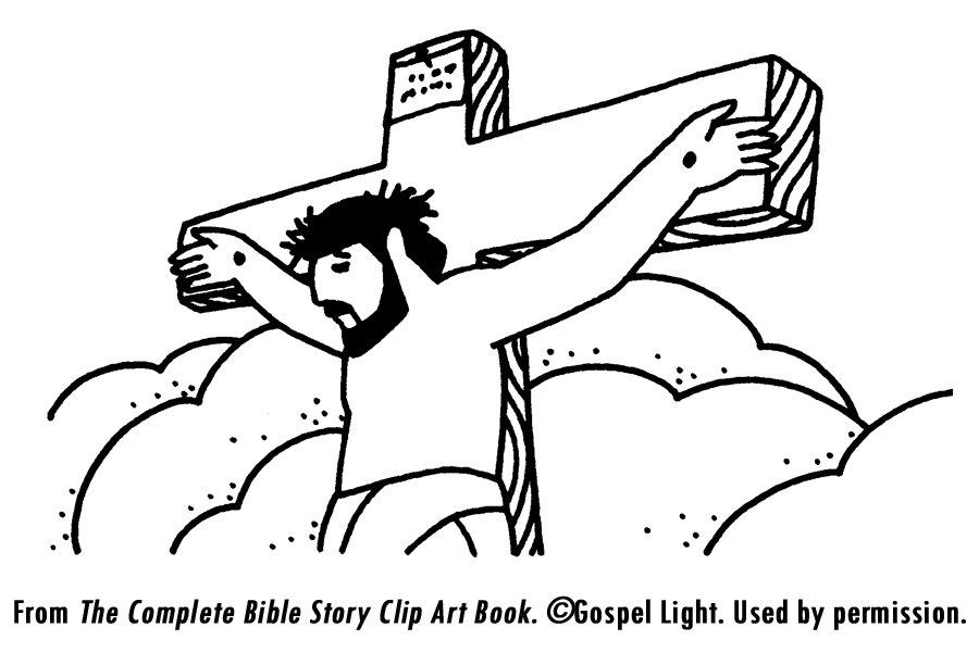 Crucifixion of Jesus Children Coloring Pages