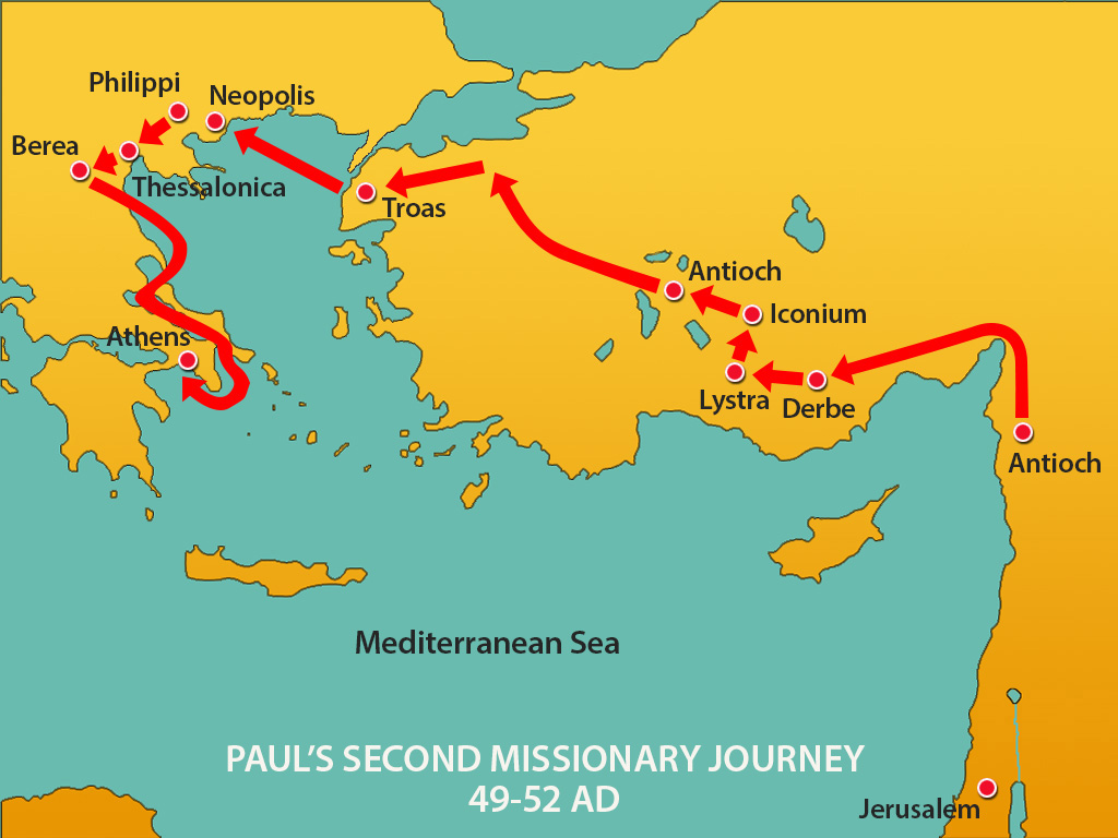 journeys of st paul  the apostle 2