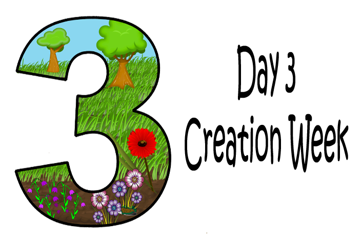 Day 3 God Created Land And Plants
