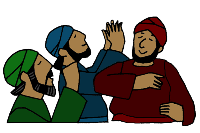 Jehoshaphat And The People Pray Mission Bible Class
