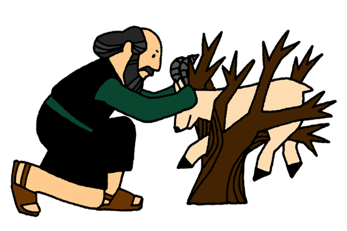Moses And The Burning Bush For Children