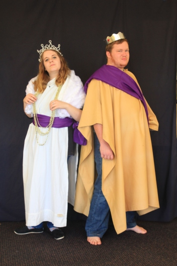 King and Queen costumes