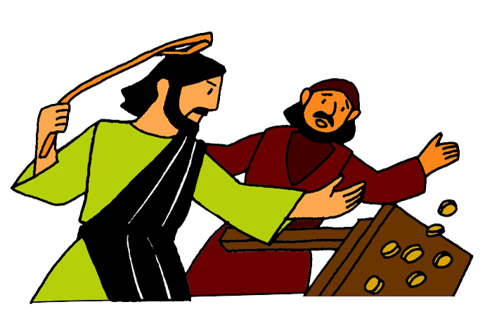 Jesus And The Moneychangers