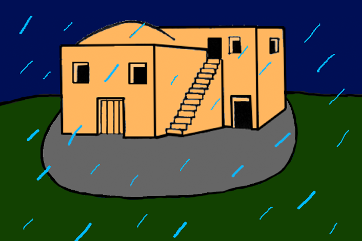 clipart house on rock - photo #5