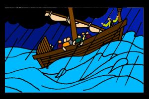 Jesus Calms The Storm Mission Bible Class