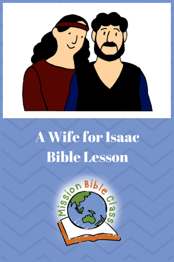 A Wife for Isaac Pin