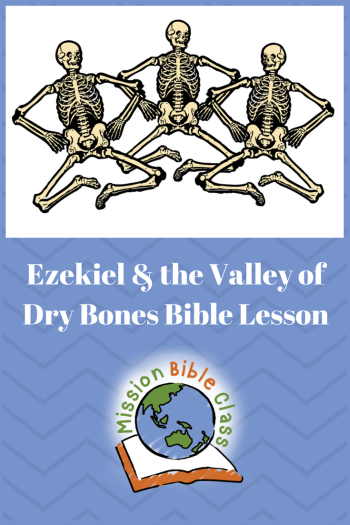 Ezekiel and the Valley of Dry Bones Pin