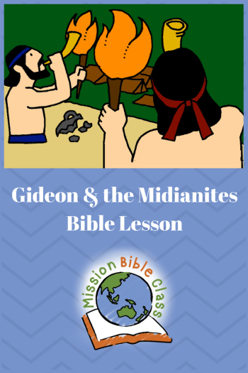 Gideon and the Midianites Pin
