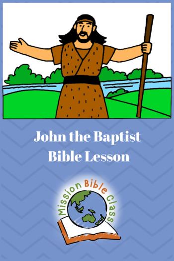John The Baptist Pin