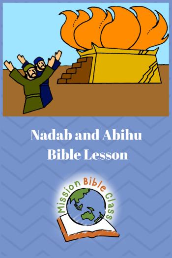 Nadab and Abihu Pin