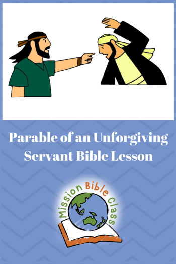 Parable of an Unforgiving Servant Pin