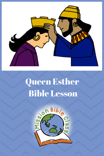Queen Esther Pin