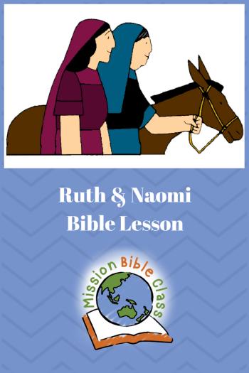 Ruth and Naomi Pin