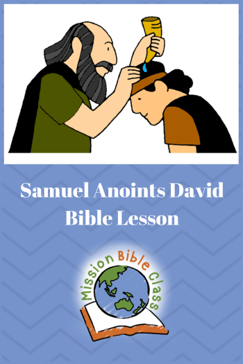 Samuel Anoints David Pin