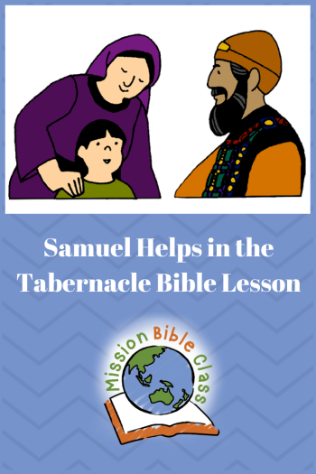 Samuel- Helper in the Tabernacle Pin