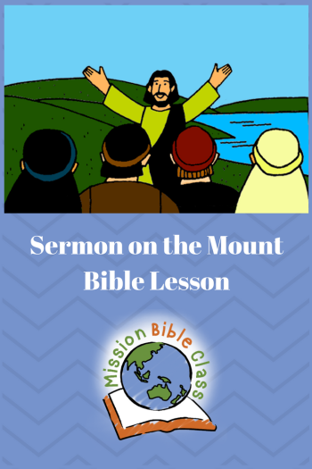 Sermon on the Mount PIn