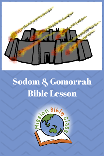 Sodom and Gomorrah Pin