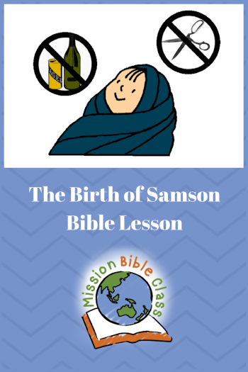 The Birth of Samson Pin