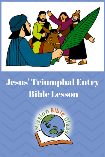 The Triumphal Entry Pin